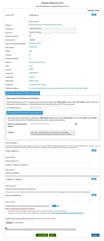 Pi Guidelines Proposal Submission For Emr